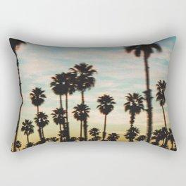 Palm Tree Sky Rectangular Pillow