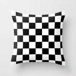 Checkerboard Throw Pillow