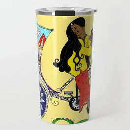 BROWN WOMAN Travel Mug