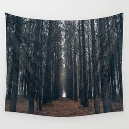 Cathedral of Pines Wall Tapestry