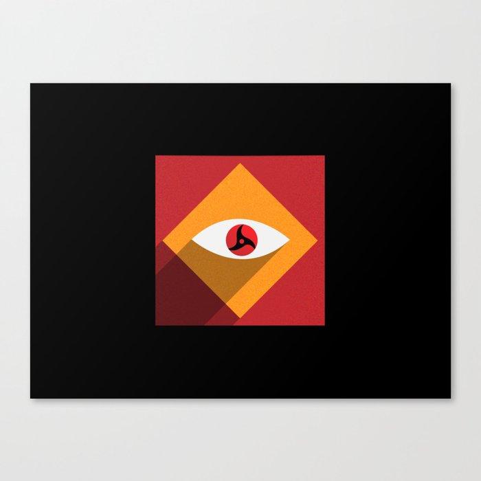 Sharingan Illusion Canvas Print