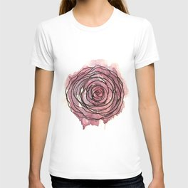 english pen rose T-shirt