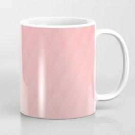 Relaxing Diamond Pattern - Warm Flame Coffee Mug
