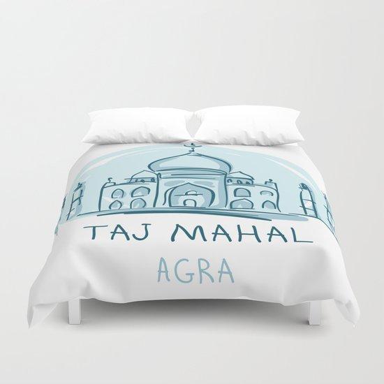 Agra 01 Duvet Cover