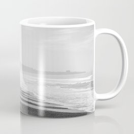 Torrey Pines in Black and White Coffee Mug