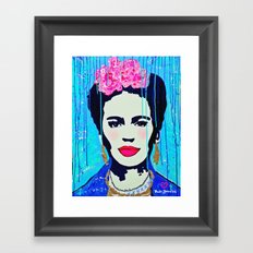 Frida Kahlo,  Happy Frida Framed Art Print