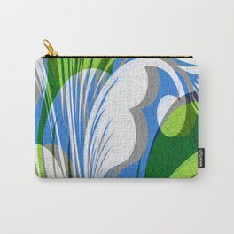 Prettiest Dang Floral Vintage Print you Ever Done Saw Carry-All Pouch