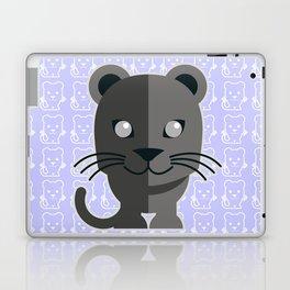 oneechan no kuro neko black cat kitten panther Laptop & iPad Skin
