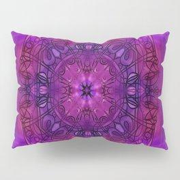 Peaceful Plum (Mandala)  Pillow Sham