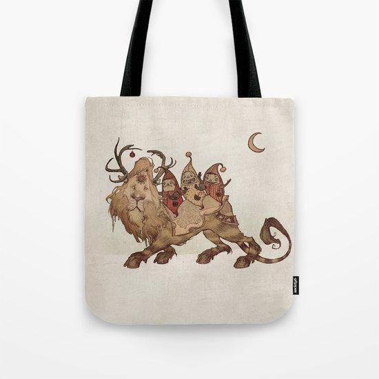 The Yuletide Beast Tote Bag