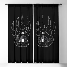 First Nations Blackout Curtain