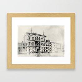 Venice - Study 283 Framed Art Print