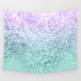 Mermaid Girls Glitter #1 #shiny #decor #art #society6 Wall Tapestry