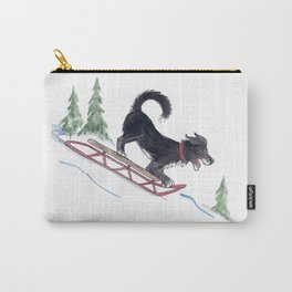 Dog Sledding 1 Carry-All Pouch