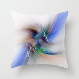 The Wings of Time Throw Pillow