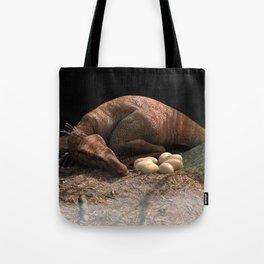 Sleeping Raptor Tote Bag