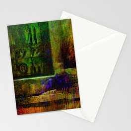 See Notre-Dame-de-Paris since the window Stationery Cards