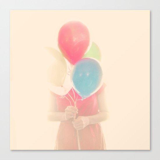 Balloon Girl Canvas Print