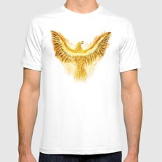 Phoenix Mens Fitted Tee White SMALL