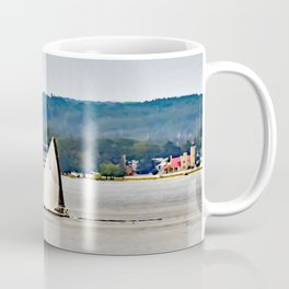 Sailboats at Mackinaw Coffee Mug
