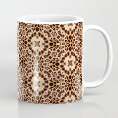 Leopard Kaleidoscope Wild Animal Print Mug