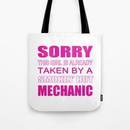 Taken By A Mechanic Tote Bag