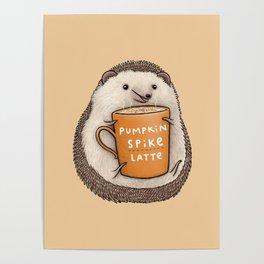 Pumpkin Spike Latte Poster