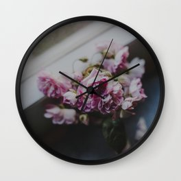 The quiet morning Wall Clock