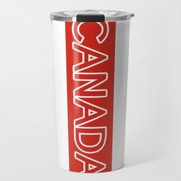 Canada (Stripe) Travel Mug