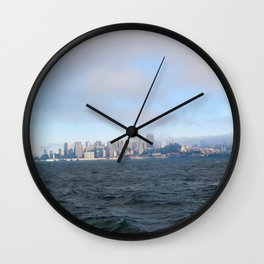 SF from the Bay Wall Clock
