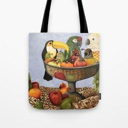 Bird Still Life Tote Bag