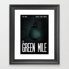 Green Mile Framed Art Print