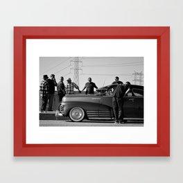 American as Apple Pie Framed Art Print
