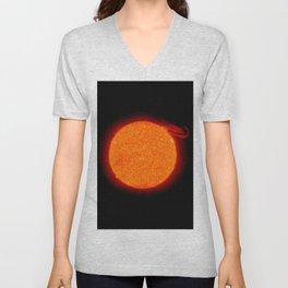 Nasa Picture 5: the sun Unisex V-Neck