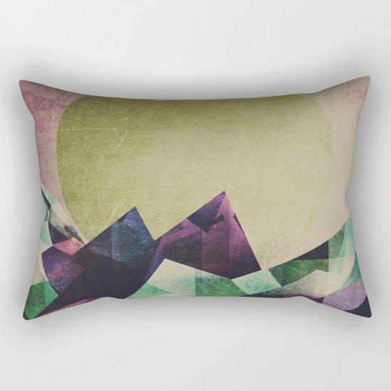 Top of the mountain Rectangular Pillow