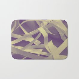 Purple paper Bath Mat