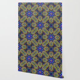 Persian kaleidoscopic Mosaic G522 Wallpaper