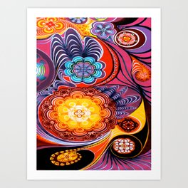 Stars as Projectors Art Print
