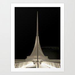 Milwaukee III Architecture by CALATRAVA | architect Art Print