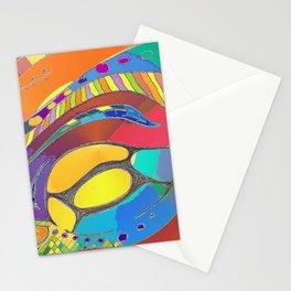 Cellular Light Stationery Cards