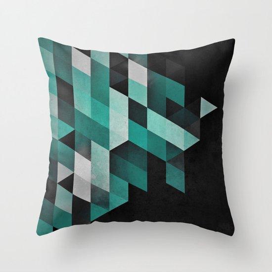 dryma mynt Throw Pillow