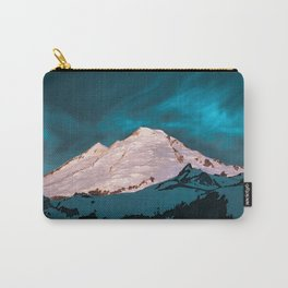 Mt Baker Blue Carry-All Pouch