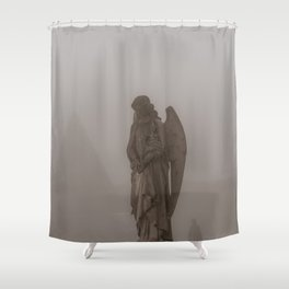 5:15 The Angels Have Gone Shower Curtain
