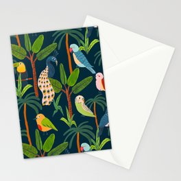 Jungle Birds Stationery Cards