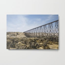 The High Level Railway Bridge - 2.0 Metal Print