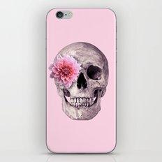 FLOWER SKULL iPhone & iPod Skin
