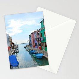 Lace Island - end of the street Stationery Cards