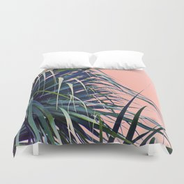 Feather Palm Duvet Cover