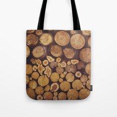 pile of wood Tote Bag