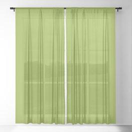 Stowaway ~ Fern Green Sheer Curtain